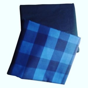 Wool checkers fabric